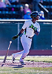 19 June 2018: Vermont Lake Monsters infielder Marcos Brito in action against the Connecticut Tigers at Centennial Field in Burlington, Vermont. The Lake Monsters defeated the Tigers 5-4 in the conclusion of a rain-postponed Lake Monsters Opening Day game started June 18. Mandatory Credit: Ed Wolfstein Photo *** RAW (NEF) Image File Available ***