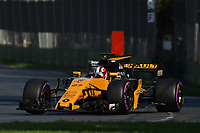 March 26, 2017: Nico Hulkenberg (DEU) #27 from the Renault Sport F1 team at the 2017 Australian Formula One Grand Prix at Albert Park, Melbourne, Australia. Photo Sydney Low