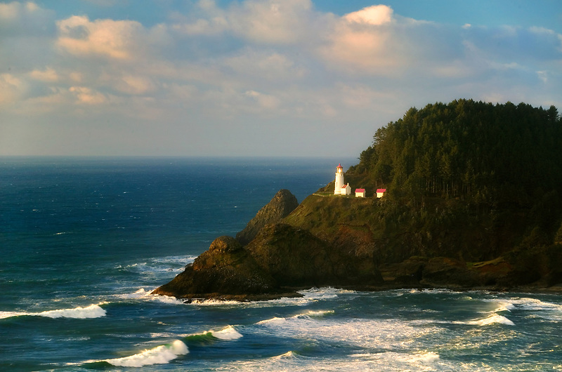 Heceta Lighthouse, Oregon.