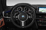 Car pictures of steering wheel view of a 2018 BMW X5 Plug-in Hybrid iPerformance 5 Door SUV