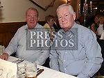 Dermot Gonnelly and Jim Kelly  at The Night At The Opera in Linn Duchaill restaurant at The Glyde Inn Annagassan. Photo:Colin Bell/pressphotos.ie