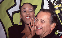 Toukie Smith &amp; Joe Pesci 1992 by <br />