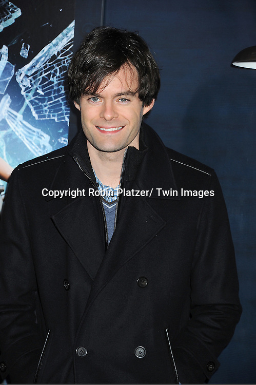 "Bill Hader attends The US Premiere of "" The Adventures of TinTin""..on December 11, 2011 at The Ziegfeld Theatre in New York City."