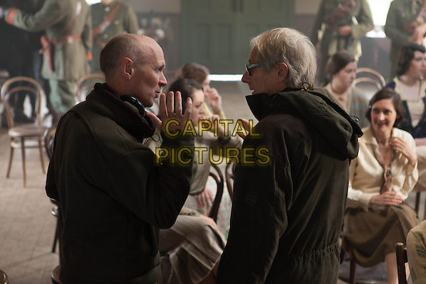 Paul Laverty (Writer), Ken Loach (Director)<br /> on the set of Jimmy's Hall (2014) <br /> *Filmstill - Editorial Use Only*<br /> CAP/NFS<br /> Image supplied by Capital Pictures