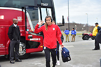 East Hartford, Conn. - April 6, 2016: The U.S. Women's National team go up against Colombia in an international friendly match at Pratt & Whitney Stadium.