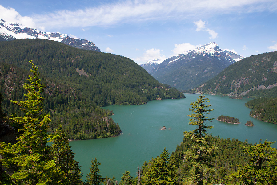 "Known as ""The American Alps,"" North Cascades National Park, WA, USA, often looks like the Swiss Alps."
