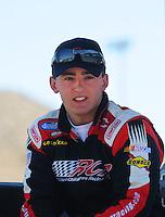 Apr 17, 2009; Avondale, AZ, USA; NASCAR Nationwide Series driver Austin Dillon during qualifying prior to the Bashas Supermarkets 200 at Phoenix International Raceway. Mandatory Credit: Mark J. Rebilas-