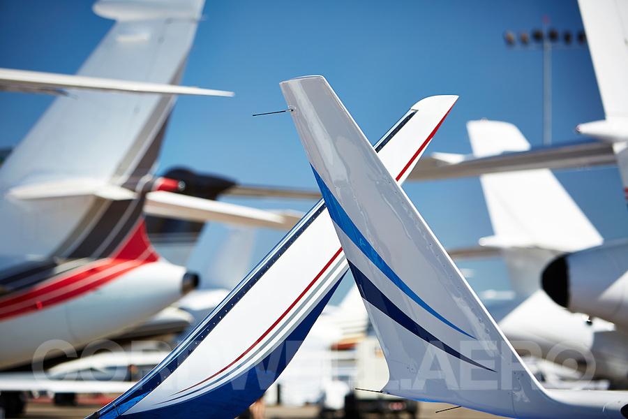 Various Tailplanes NBAA 2013
