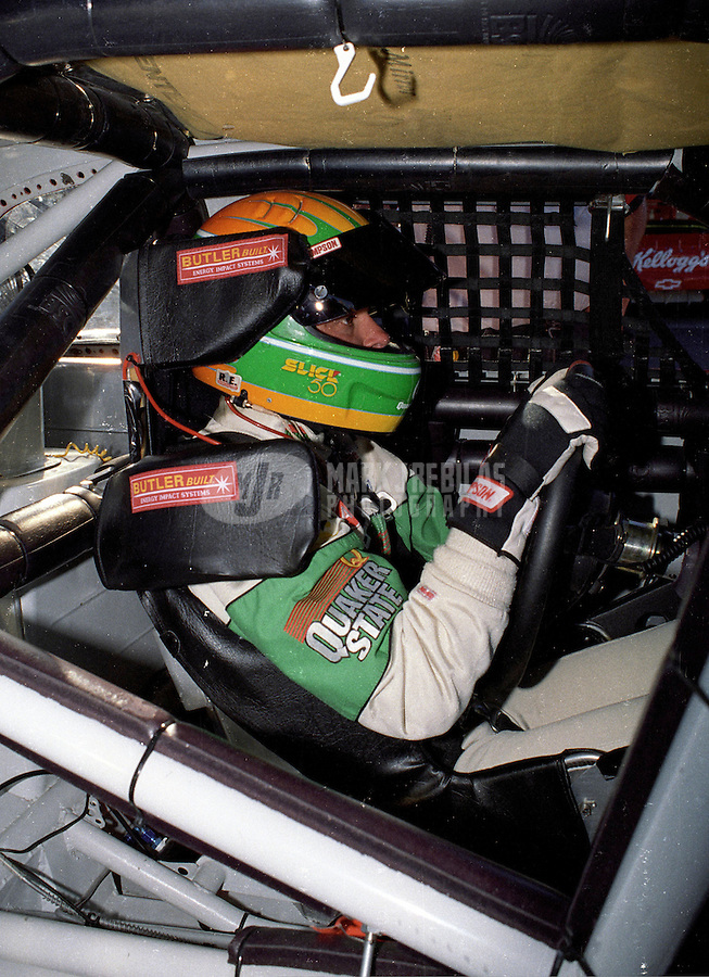 Nov. 1, 1997; Avondale, AZ, USA; NASCAR Winston Cup Series driver Jack Sprague during the Dura Lube 500 at Phoenix International Raceway. Mandatory Credit: Mark J. Rebilas-