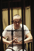 The Silence of the Lambs (1991) <br /> Anthony Hopkins<br /> *Filmstill - Editorial Use Only*<br /> CAP/KFS<br /> Image supplied by Capital Pictures