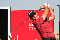 Ratief Goosen (RSA) on the third day of the DUBAI WORLD CHAMPIONSHIP presented by DP World, Jumeirah Golf Estates, Dubai, United Arab Emirates.Picture Fran Caffrey www.golffile.ie