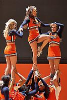 SAN ANTONIO, TX - DECEMBER 9, 2017: The University of Texas at San Antonio Roadrunners defeat the Houston Baptist University Huskies 87-71 at the UTSA Convocation Center. (Photo by Jeff Huehn)