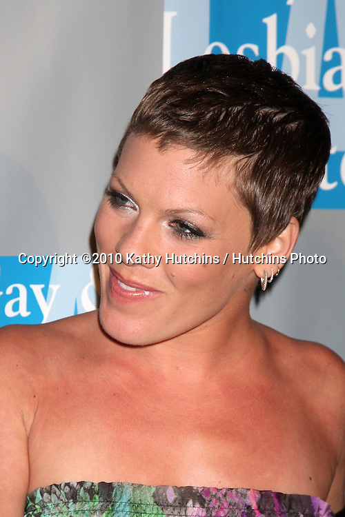 Pink (Alecia Moore).arrives at An Evening with Women - LA Gay & Lesbian Center's Gala.Beverly Hilton Hotel.Beverly Hills, CA.May 1, 2010.©2010 Kathy Hutchins / Hutchins Photo...