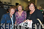 Alice King, Helen Healy and Joan Ivers enjoying themselves at the launch of the book Eyewitness and the website the kennellyarchive.com in the library of the IT Tralee North Campus on Thursday.