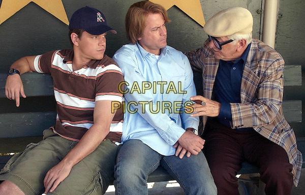MATT DAMON, GREG KINNEAR & SEYMOUR CASSEL.in Stuck On You.Filmstill - Editorial Use Only.Ref: FB.www.capitalpictures.com.sales@capitalpictures.com.Supplied by Capital Pictures