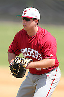 Indiana Hoosiers Jerrud Sabourin #35 during a game vs UMass at Lake Myrtle Main Field in Auburndale, Florida;  March 16, 2011.  Indiana defeated UMass 11-10.  Photo By Mike Janes/Four Seam Images