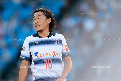 Naohiro Ishikawa (FC Tokyo), <br /> JULY 11, 2015 - Football / Soccer : <br /> 2015 J1 League 2nd stage match <br /> between Kawasaki Frontale 2-0 F.C. Tokyo <br /> at Kawasaki Todoroki Stadium, Kanagawa, Japan. <br /> (Photo by AFLO SPORT)