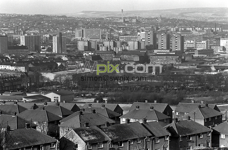 Pix: Barry Wilkinson/SWpix.com. The Yorkshire Ripper Archive. 29/11/1980..COPYRIGHT PICTURE>>SIMON WILKINSON>>0870 092 0092>>..GV, Bradford and Leeds City Centre.