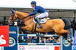Day 4. Royal Windsor Horse Show. Windsor. Berkshire. UK. Showjumping. Kingdom of Bahrain Stakes for the Kings Cup. Daniel Deusser riding Equita van T Zorgvliet. GER. Winner.12/05/2018. ~ MANDATORY Credit Elli Birch/Sportinpictures - NO UNAUTHORISED USE - 07837 394578