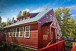 Talkeetna Historical Society's Museum, Talkeetna, Southcentral Alaska, Summer.