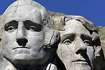 Recently, the fours Presidents at Mount Rushmore got their faces power washed by a team out of Germany. Crazy Horse the world's largest sculpture has been in progress since 1947 when sculptor Korczak Ziolkowski (1908-1982) arrived in the Black Hills of South Dakota to accept the Indians invitation to carve a mountain. The Memorial is not a federal or state project.  The project is being continued by Korczak's wife, Ruth, and their large family.  .