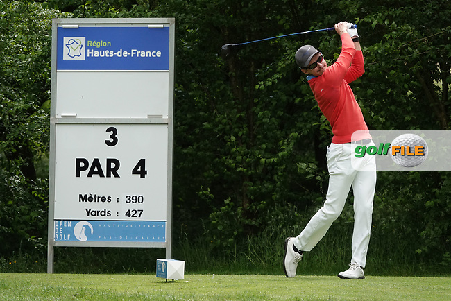 Daan Huizing (NED) in action during the third round of the Hauts de France-Pas de Calais Golf Open, Aa Saint-Omer GC, Saint- Omer, France. 15/06/2019<br /> Picture: Golffile | Phil Inglis<br /> <br /> <br /> All photo usage must carry mandatory copyright credit (© Golffile | Phil Inglis)
