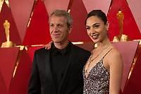 Yaron Varsano and Gal Gadot arrive on the red carpet of The 90th Oscars&reg; at the Dolby&reg; Theatre in Hollywood, CA on Sunday, March 4, 2018.<br /> *Editorial Use Only*<br /> CAP/PLF/AMPAS<br /> Supplied by Capital Pictures