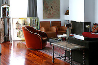 ethnic contemporary living room