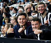 1st October 2017, St James Park, Newcastle upon Tyne, England; EPL Premier League football, Newcastle United versus Liverpool; Newcastle United fans were happy with the 1-1 draw