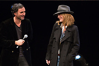Vanessa Paradis & Samuel Benchetrit at the 32nd FIFF in Namur - Belgium