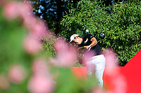 Byeong Hun An (KOR) on the 2nd tee during the final round at the WGC HSBC Champions 2018, Sheshan Golf CLub, Shanghai, China. 28/10/2018.<br /> Picture Fran Caffrey / Golffile.ie<br /> <br /> All photo usage must carry mandatory copyright credit (&copy; Golffile | Fran Caffrey)