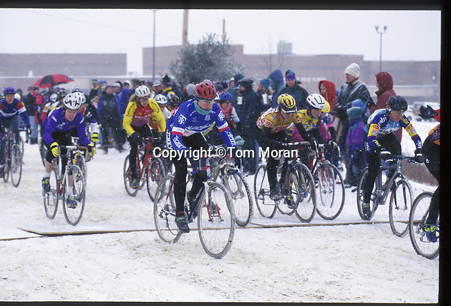 Jan Bolland won the 1995 National Cyclocross Championships, Leicester, MA