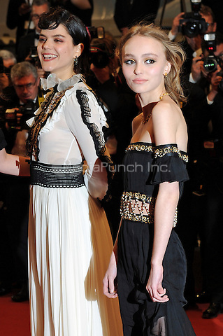 SOKO and Lily-Rose Depp at the &acute;La Danseuse` (The Dancer) screening during The 69th Annual Cannes Film Festival on May 13, 2016 in Cannes, France.<br /> CAP/LAF<br /> &copy;Lafitte/Capital Pictures /MediaPunch ***NORTH AND SOUTH AMERICA ONLY***