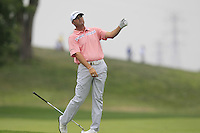 Ryan PALMER (USA) plays his 2nd shot on the 1st hole during Thursday's Round 1 of the 2014 PGA Championship held at the Valhalla Club, Louisville, Kentucky.: Picture Eoin Clarke, www.golffile.ie: 7th August 2014