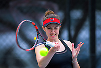 Kelly Southwood. 2019 Wellington Tennis Open at Renouf Centre in Wellington, New Zealand on Thursday, 19 December 2019. Photo: Dave Lintott / lintottphoto.co.nz