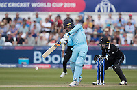 Jason Roy (England) pulls through the on side during England vs New Zealand, ICC World Cup Cricket at The Riverside Ground on 3rd July 2019