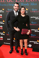 "Alberto Tous and Ruth Nunez attend the Premiere of the movie ""Magic in the Moonlight"" at callao Cinema in Madrid, Spain. December 2, 2014. (ALTERPHOTOS/Carlos Dafonte) /NortePhoto.com"