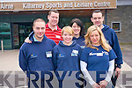 Killarney Sports and Leisure Complex are delighted to have won a major award at the annual Lama awards. The centre won the best publicly funded sport complex at the Local Authority awards. .Back L-R Manager Paul Cullinan, Sine?ad O'Shea and Pat Sheehan, .Front L-R Jiri Brzobohaty, Shauna Duffy and Alice Kakuschke.
