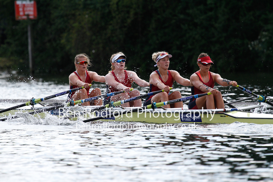 Race: 193 S4x Quarter-Final - Newcastle Univ vs Oxford Brookes<br /> <br /> Henley Women's Regatta 2017<br /> <br /> To purchase this photo, or to see pricing information for Prints and Downloads, click the blue 'Add to Cart' button at the top-right of the page.
