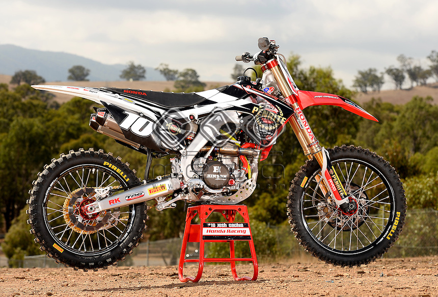 Josh Cachia's Penrite Honda Racing 250<br />