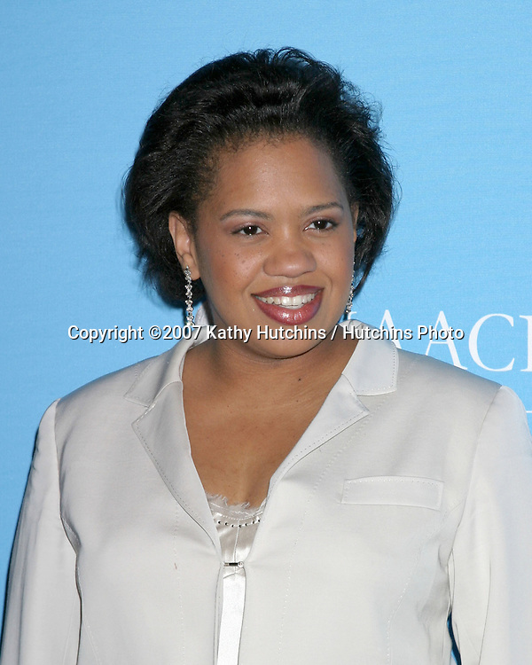 Chandra Wilson.NAACP Image Awards Nominations.Pennisula Hotel.Beverly Hills,  CA.January 8, 2007.©2007 Kathy Hutchins / Hutchins Photo....