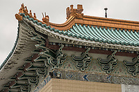 The splendid architecture of the structure is modeled on the Forbidden City in Beijing and incorporates elements of traditional Chinese royal design in feudal society.