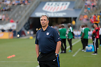 East Hartford, CT - Saturday July 01, 2017: Bruce Arena during an international friendly game between the men's national teams of the United States (USA) and Ghana (GHA) at Pratt & Whitney Stadium.
