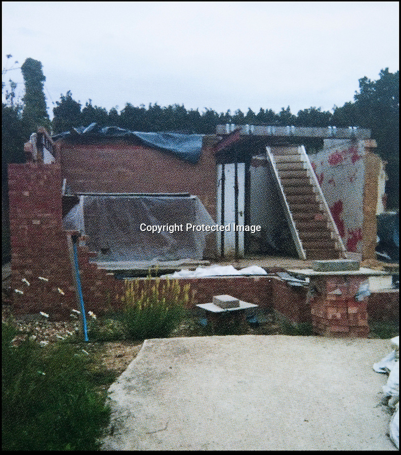 BNPS.co.uk (01202 558833)<br /> Pic: PhilYeomans/BNPS<br /> <br /> Early stages of the rebuild.<br /> <br /> Plucky Carol Sullivan turned a £160,000 black hole left by cowboy builders into one million pound house - after building her dream home herself.<br /> <br /> Carol was left severley out of pocket after her luxury home was built with sub-standard mortar - meaning the whole structure had to be pulled down when the project was half way through.<br /> <br /> After firing the builders and waving goodbye to £160,000, undaunted Carol(50) enrolled on a bricklaying course at her local college and learned how to build the house herself. <br /> <br /> Further courses in carpentry and plumbing  have enabled determined Carol to complete the project in a year. The house is now thought to worth £1 million.