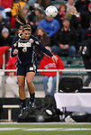 03 December 2010: Notre Dame's Melissa Henderson. The Notre Dame Fighting Irish defeated the Ohio State University Buckeyes 1-0 at WakeMed Stadium in Cary, North Carolina in an NCAA Women's College Cup semifinal game.