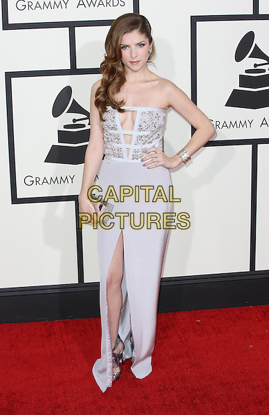 LOS ANGELES, CA - JANUARY 26:  Anna Kendrick attending The 56th Annual Grammy Awards at Staples Center in Los Angeles, California on January 26, 2014. <br /> CAP/MPI/mpi99<br /> &copy;mpi99/MediaPunch/Capital Pictures