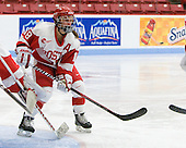 Jillian Kirchner (BU - 18) - The Boston University Terriers defeated the visiting Northeastern University Huskies 3-0 on Tuesday, December 7, 2010, at Walter Brown Arena in Boston, Massachusetts.