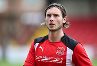 Fleetwood Town's Aiden O'Neill  <br /> <br /> Photographer Andrew Kearns/CameraSport<br /> <br /> The Carabao Cup First Round - Fleetwood Town v Carlisle United Kingdom - Tuesday 8th August 2017 - Highbury Stadium - Fleetwood<br />  <br /> World Copyright &copy; 2017 CameraSport. All rights reserved. 43 Linden Ave. Countesthorpe. Leicester. England. LE8 5PG - Tel: +44 (0) 116 277 4147 - admin@camerasport.com - www.camerasport.com