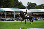 Izzy Taylor [GBR] riding Kbis Briarlands Matilda <br />  during the Dressage phase of the 2014 Land Rover Burghley Horse Trials held at Burghley House, Stamford, Lincolnshire