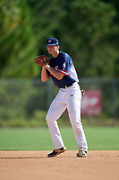 Will Mize during the WWBA World Championship at the Roger Dean Complex on October 18, 2018 in Jupiter, Florida.  Will Mize is a shortstop from Snellville, Georgia who attends Brookwood High School and is committed to Georgia State.  (Mike Janes/Four Seam Images)